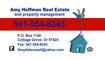 Amy Hoffman Real Estate Logo