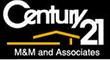 Century 21 M & M & Associates Logo