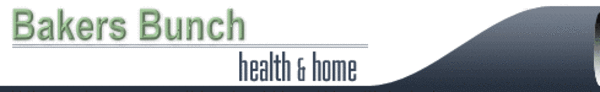 Bakers Bunch Health & Home Banner