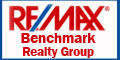 RE/MAX Benchmark Realty Group Logo