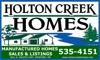 Holton Creek Homes Banner