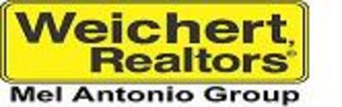 Weichert Realtors' Mel Antonio Group Banner