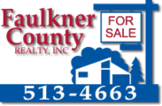 Faulkner County Realty, Inc. Banner